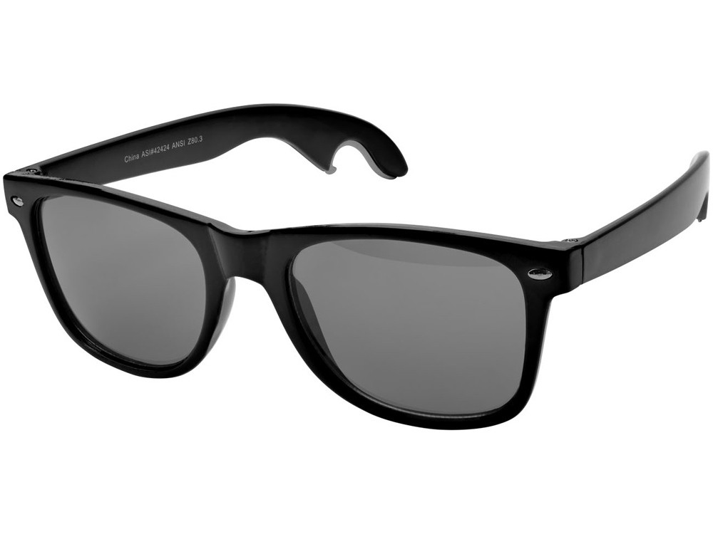 Солнцезащитные очки-открывашка, черный (артикул 10042500)