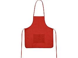 Фартук, красный, плотность 80г/м2 (артикул 839491)