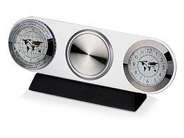 Часы настольные Ист-Вест, серебристый (артикул 102500)