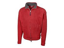 Куртка флисовая Nashville мужская, красный/пепельно-серый (артикул 31750742XL)