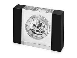 Часы настольные Ottaviani, черный/серебристый (артикул 11391)