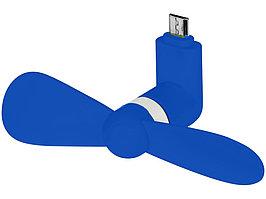 Вентилятор Airing микро ЮСБ, ярко-синий (артикул 12387701)
