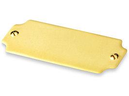 Шильд золотистый (артикул 515550)