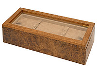 Шкатулка для часов Бакалавр из дерева (артикул 51071)