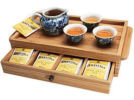 Шкатулка для чая, светло-коричневый (артикул 515969)
