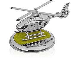 Часы Вертолет, серебристый (артикул 104700)
