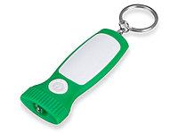 Брелок-фонарик Каяма, зеленый/белый (артикул 716503), фото 1