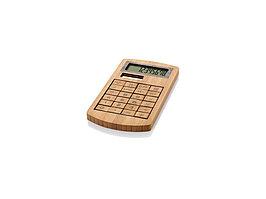 Калькулятор 8-ми разрядный Eugene, коричневый (артикул 12342800)