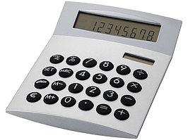 Калькулятор с конвертером валют Face-it, серебристый (артикул 19686569)