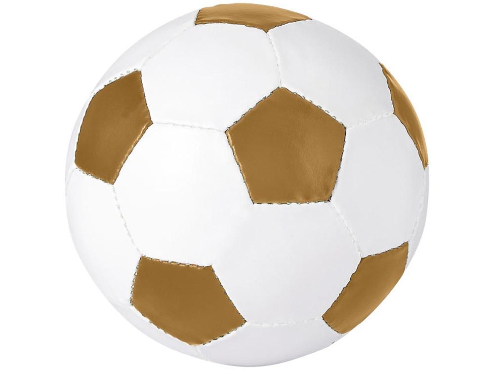 Футбольный мяч Curve, золотой/белый (артикул 10042404)