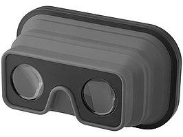 Складные силиконовые очки виртуальной реальности, серый/черный (артикул 13422800)