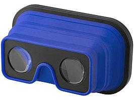 Складные силиконовые очки виртуальной реальности, ярко-синий/черный (артикул 13422801)