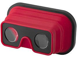Складные силиконовые очки виртуальной реальности, красный/черный (артикул 13422802)