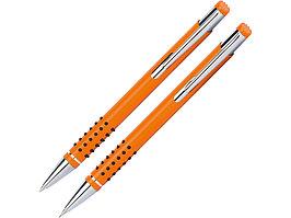 Набор Онтарио: ручка шариковая, карандаш механический, оранжевый/серебристый (артикул 53400.13)