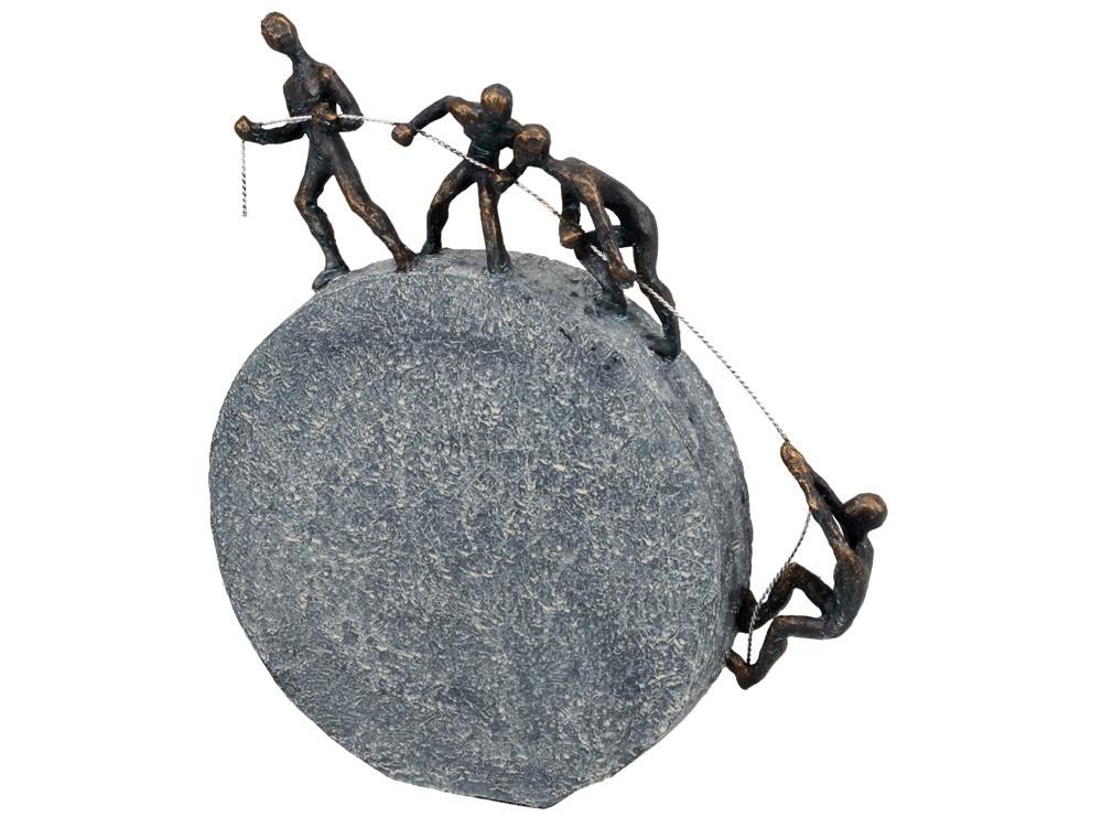 Композиция Дружный коллектив, серебристый/бронза с чернением (артикул 59103)