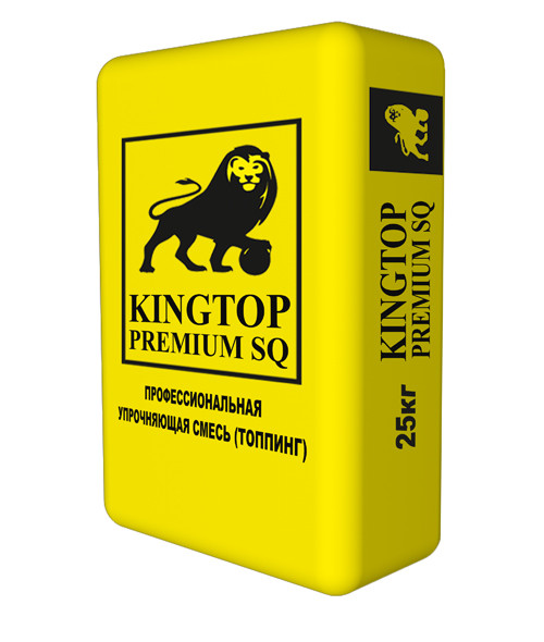 KINGTOP Premium SQ, превосходит пол, упрочненный KINGTOP Corund (топинг)