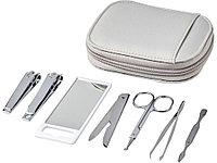 Набор для личной гигиены Groomsby из 7 предметов, серый (артикул 12605602)