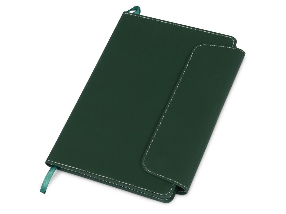 Блокнот A5 Horsens с шариковой ручкой-стилусом, зеленый (артикул 10685103)