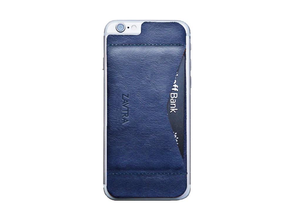 Кошелек-накладка на iPhone 6/6s, синий (артикул 159602)