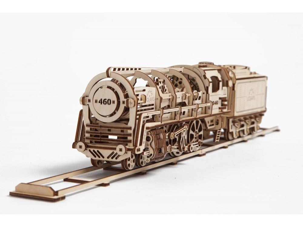 3D-ПАЗЛ UGEARS Поезд (артикул 70012)
