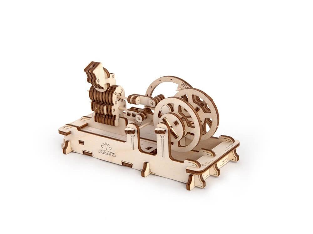 3D-ПАЗЛ UGEARS Двигатель (артикул 70009)