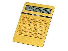 Калькулятор Золотой, золотистый (артикул 259105)