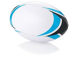 Мяч для регби Stadium, белый/голубой (артикул 10026600)