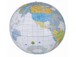Мяч надувной пляжный Globe, разноцветный (артикул 19538615)
