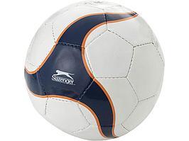 Мяч футбольный, размер 5, белый/темно-синий (артикул 10010000)