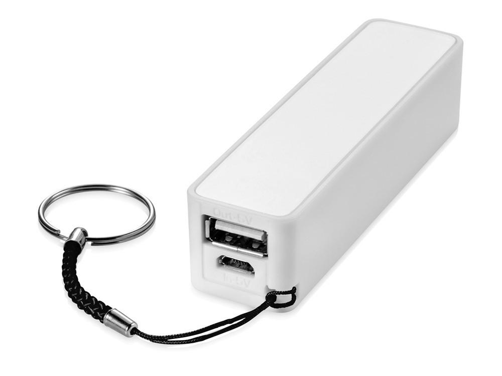 Портативное зарядное устройство Jive, белый (артикул 13419501)