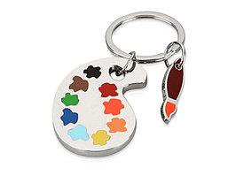 Брелок Палитра, серебристый/разноцветный (артикул 704908)