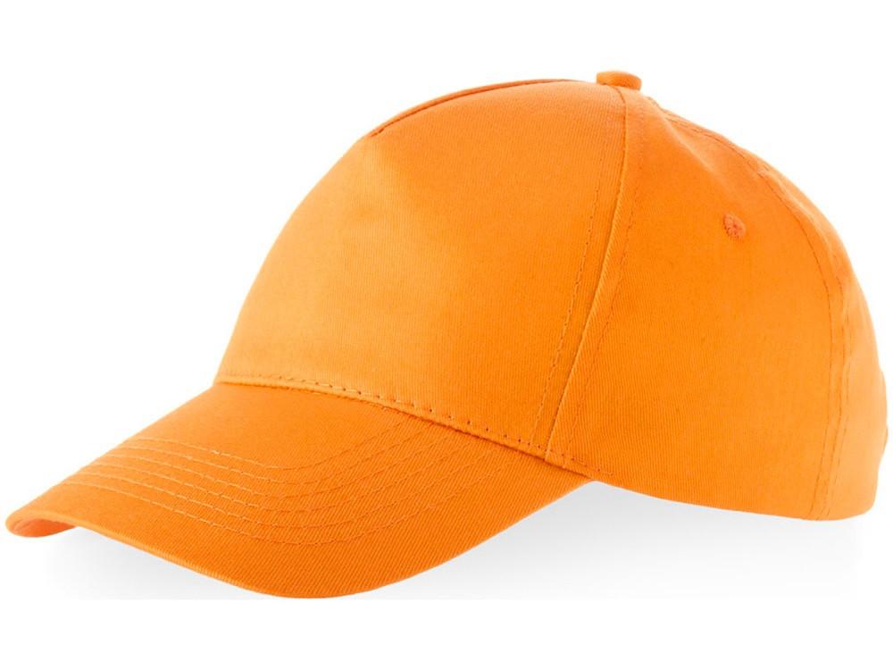 Бейсболка Memphis C 5-ти панельная, оранжевый (артикул 11101601C)