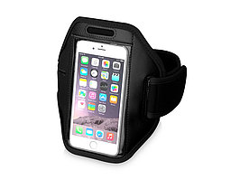 Наручный чехол Gofax для смартфонов с сенсорным экраном, черный (артикул 10041000)