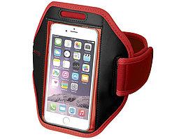 Наручный чехол Gofax для смартфонов с сенсорным экраном, красный (артикул 10041002)