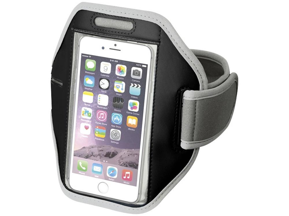 Наручный чехол Gofax для смартфонов с сенсорным экраном, светло-серый (артикул 10041003)