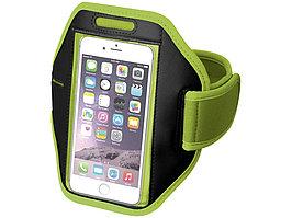 Наручный чехол Gofax для смартфонов с сенсорным экраном, лайм (артикул 10041004)