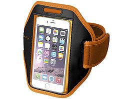 Наручный чехол Gofax для смартфонов с сенсорным экраном, оранжевый (артикул 10041005)
