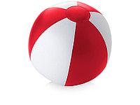 Пляжный мяч Palma, красный/белый (артикул 10039600), фото 1