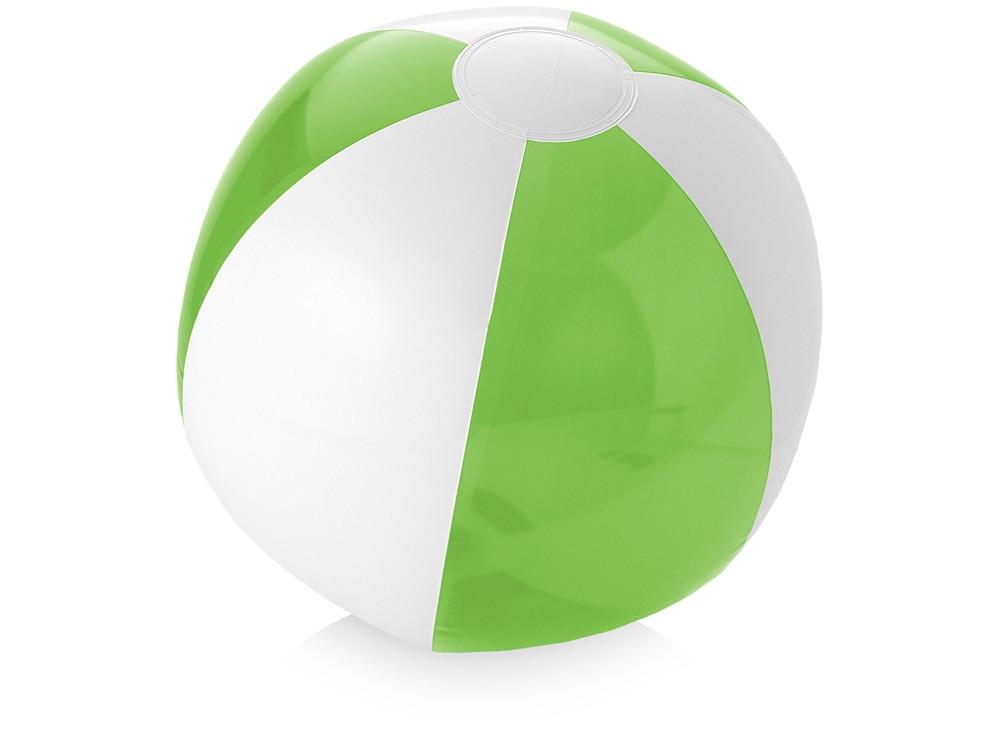 Пляжный мяч Bondi, лайм/белый (артикул 10039700)