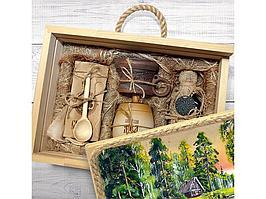 Подарочный набор Лесная пасека, бежевый (артикул 4146)
