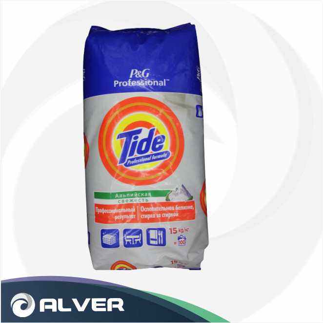 Порошок стиральный TIDE 15кг Для Белого