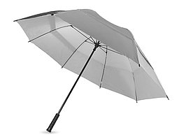 Зонт трость Cardiff, механический 30, серебристый (артикул 10900305)