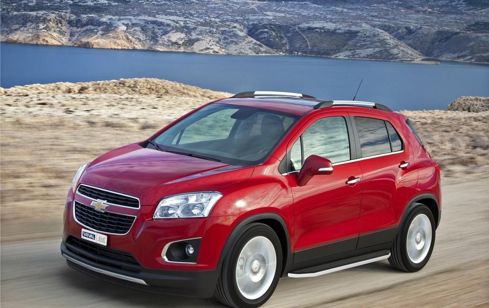 "Пороги ""Premium"" Chevrolet Tracker (2013-), Opel Mokka (2010-2015)"