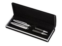 Набор ручек ''Morzine'': шариковая ручка и роллер, черные чернила (артикул 10603200)