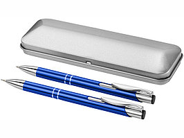 Набор Dublin: ручка шариковая, карандаш механический, ярко-синий (артикул 10619901)