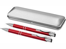 Набор Dublin: ручка шариковая, карандаш механический, красный (артикул 10619902)