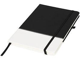 Блокнот А5 двухцветный, черный/белый (артикул 10722900)