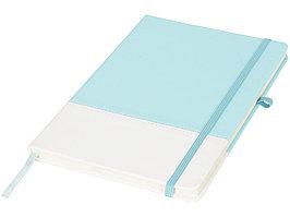 Блокнот А5 двухцветный, мятный/белый (артикул 10722903)
