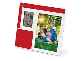 Часы Рио, красный/белый (артикул 856101.03)
