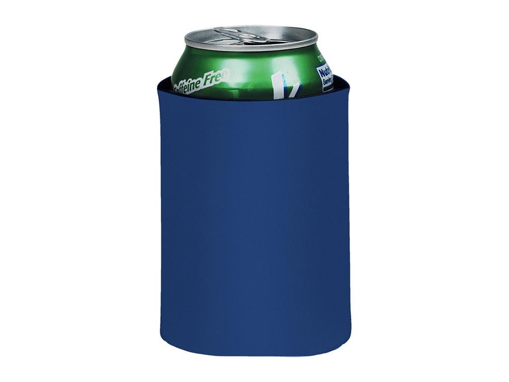 Складной держатель-термос Crowdio для бутылок, ярко-синий (артикул 10041701)